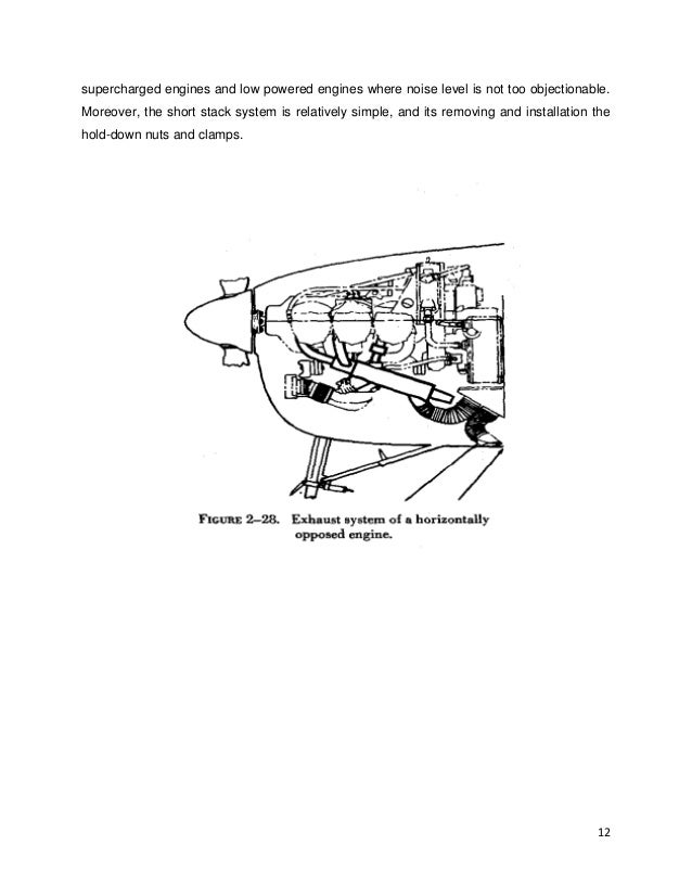 Report Of Engine Cooling Exhaust System