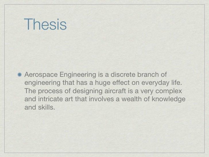 Aerospace Engineering Slide 2