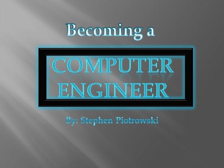 Computer Engineer Powerpoint Slide 1