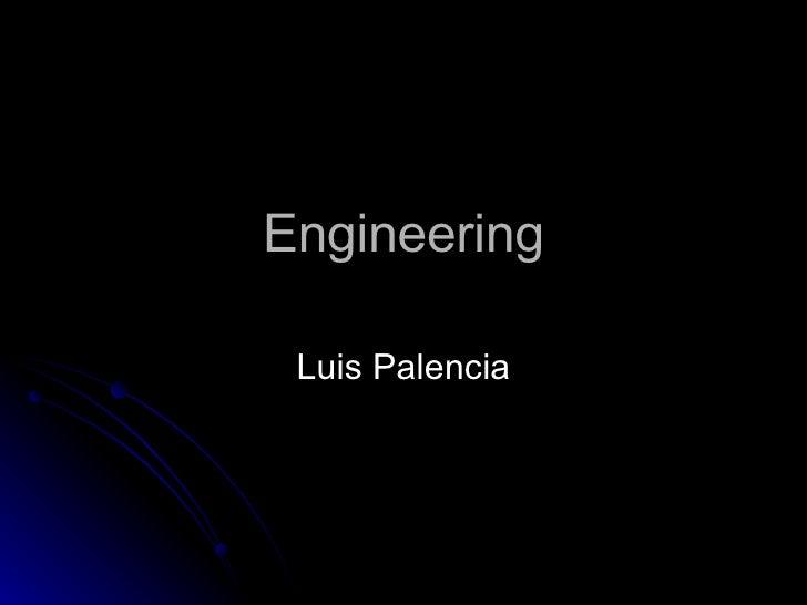 Engineering Luis Palencia