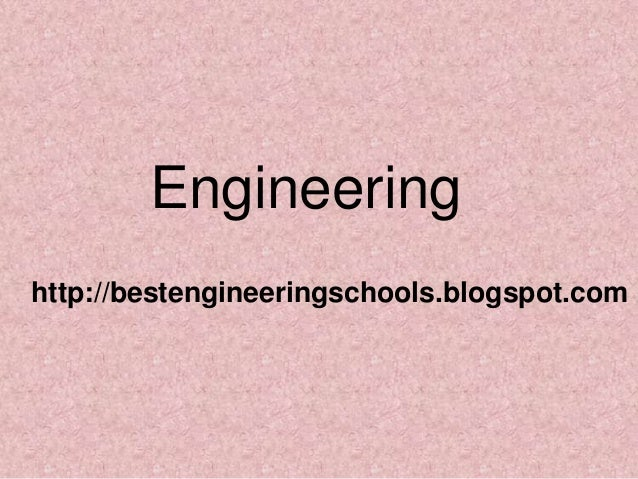Engineering http://bestengineeringschools.blogspot.com