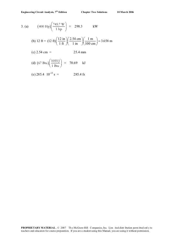 Engineering circuit-analysis-solutions-7ed-hayt [upload by r1-lher Slide 3