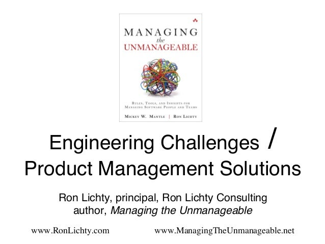 Engineering Challenges / 