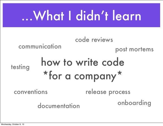 Engineering culture Slide 3