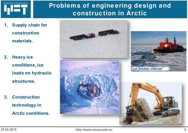 МОРСТРОЙТЕХНОЛОГИЯ Problems of engineering design and construction in Arctic http://www.morproekt.ru/ 527.02.2015 1. Suppl...