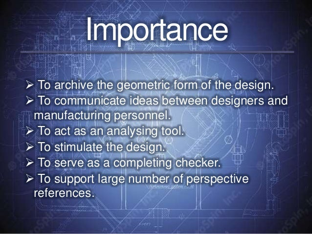 importance of engineering drawing