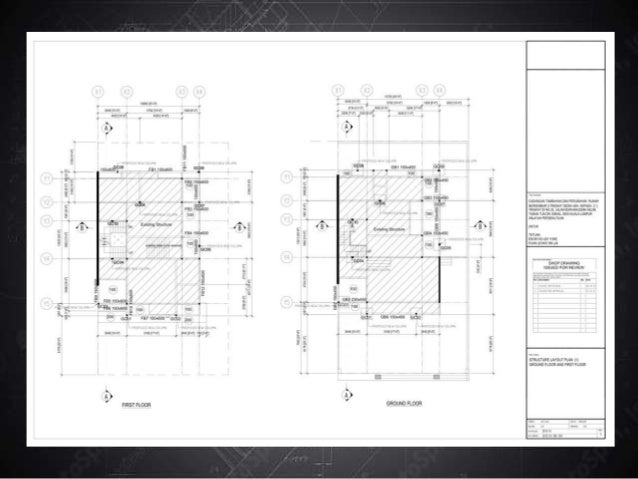 ITD: Project #01: Structural Engineering Drawings