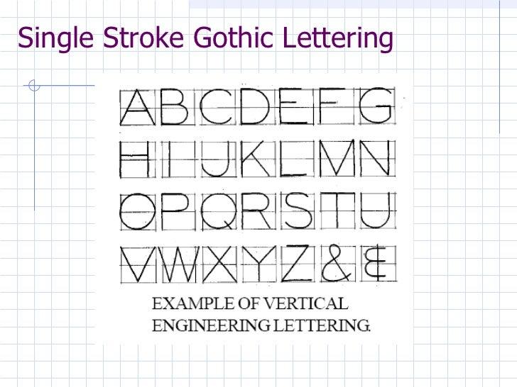 engineering drawing engineering lettering lesson 3 rh slideshare net engineering lettering guidelines 1 3 3 download engineering lettering guidelines 2 3 2 pdf