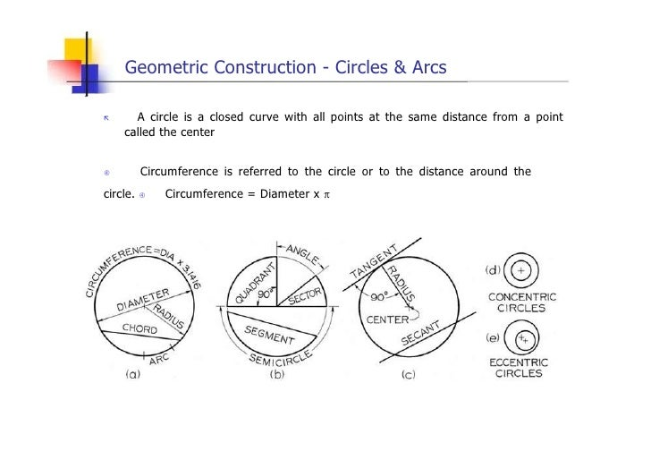 Engineering drawing geometric construction lesson 4 – Geometry Construction Worksheets