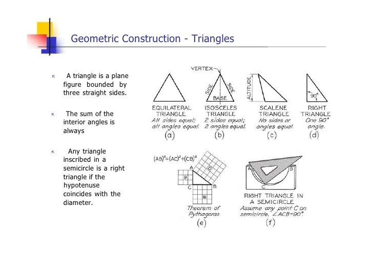Engineering drawing (geometric construction) lesson 4