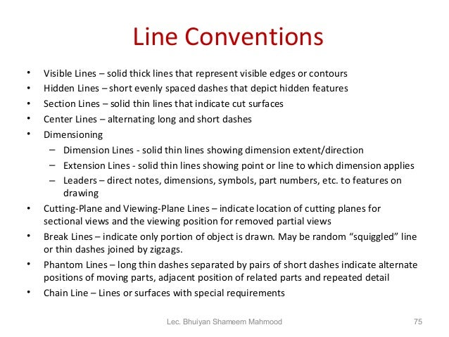 section lines engineering