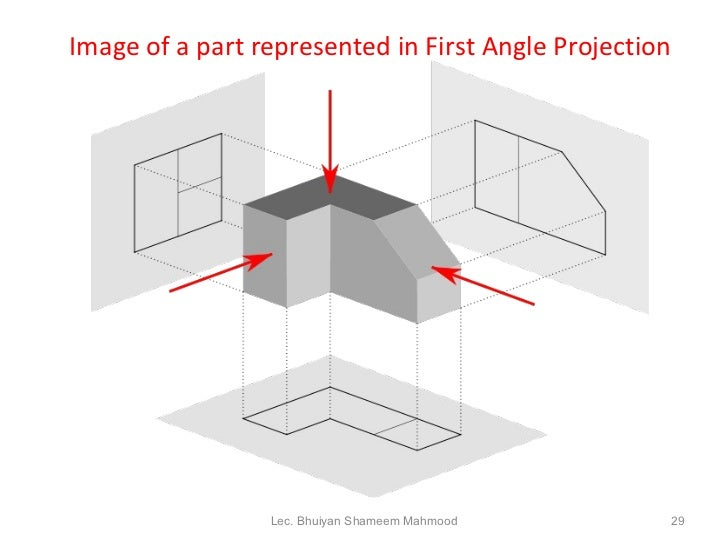 Drawing Lines Of Symmetry : Engineering drawing
