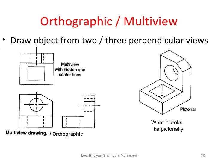Worksheets Multiview Drawing Exercises engineering drawing bhuiyan shameem mahmood 30 orthographic multiview