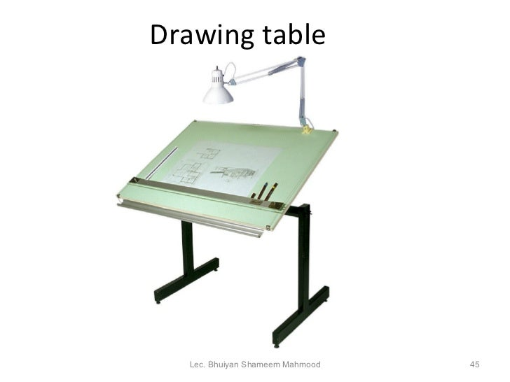 drawing table lec
