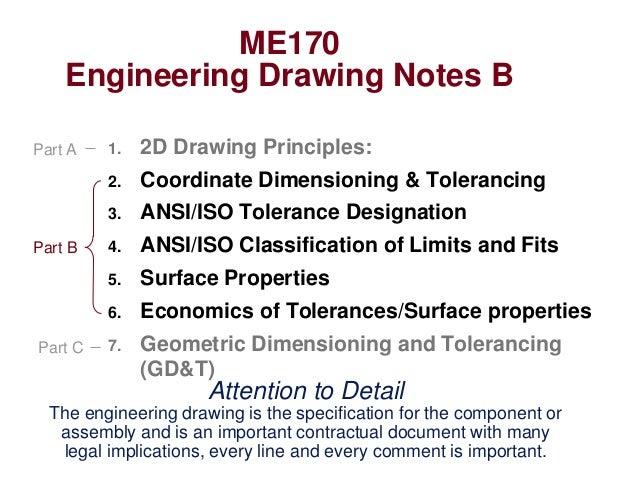 Engineering Drawing Notesb