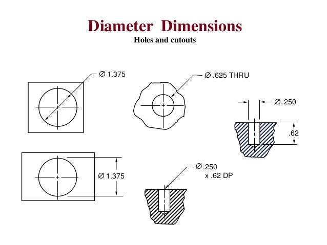 Engineering Drawing Notes B