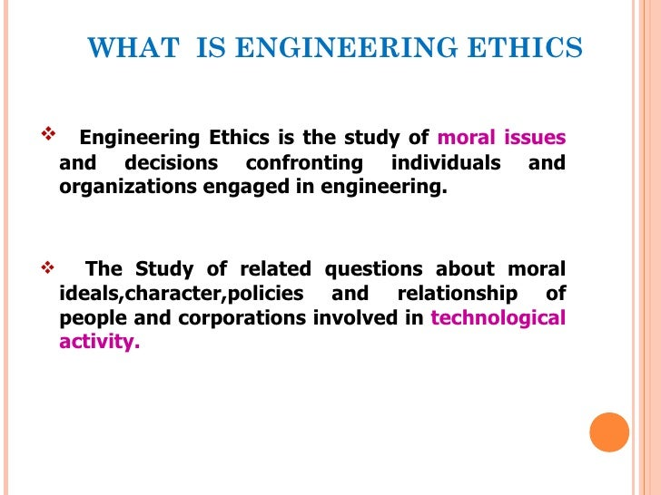 engineering ethics Engineering ethics gain an understanding of the model rules of professional conduct for engineers, including your obligations to society, your employer and clients, and other licensees in this online, interactive course.