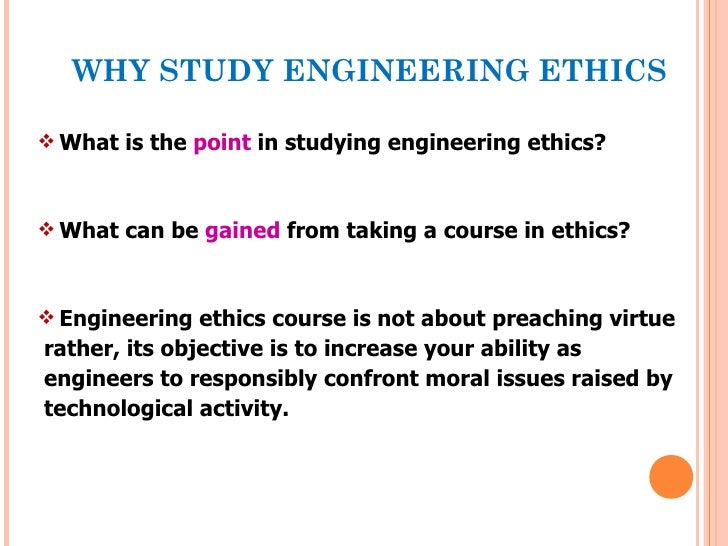 Engineering ethics