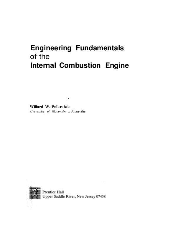 engineering fundamentals of ic engines rh slideshare net Human Internal Combustion internal combustion engine fundamentals john b heywood solution manual
