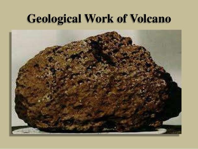 Geological Work of Volcano