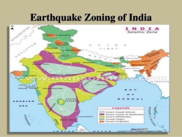 Earthquake Zoning of India