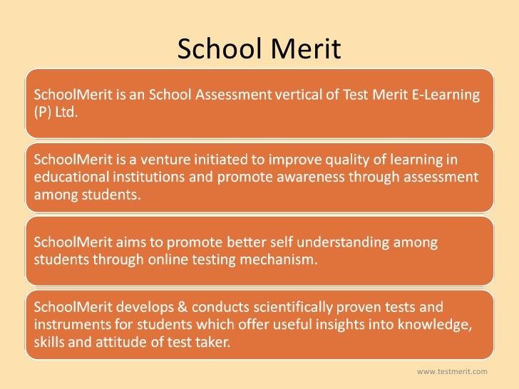 School Merit www.testmerit.com