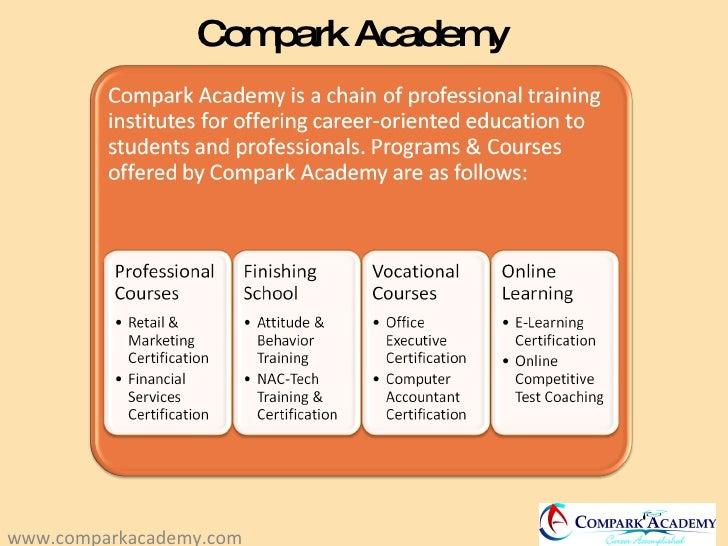 Compark Academy www.comparkacademy.com