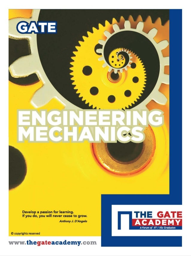 ENGINEERING MECHANICS for Mechanical Engineering By www.thegateacademy.com