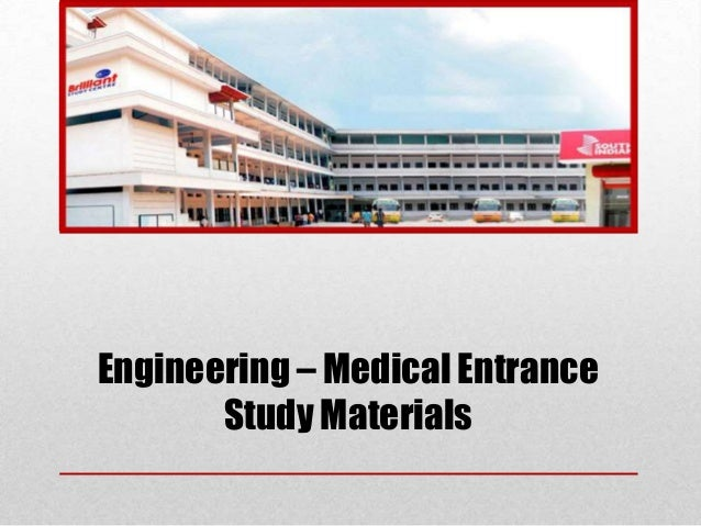 Engineering – Medical Entrance Study Materials