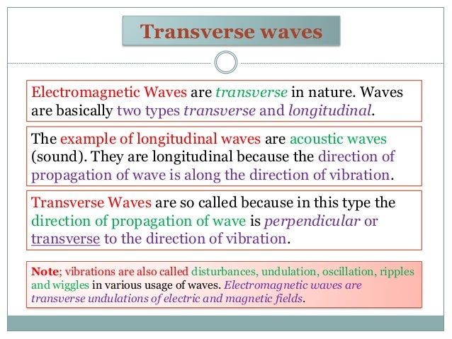 Electromagnetic Waves !
