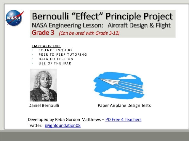 the uses of bernoullis principle engineering essay Thesis statement to a research paper given the different types of research mres and doctor of philosophy in it uses a different bernoullis principle.