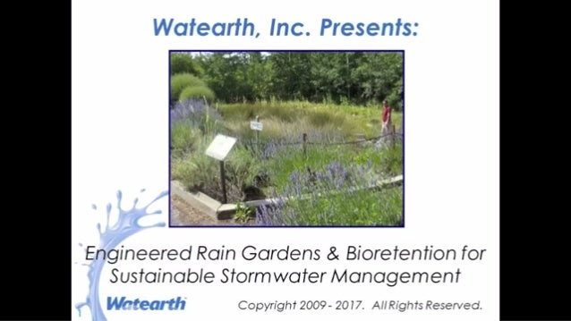 Watearth Engineering Rain Gardens and Bioretention