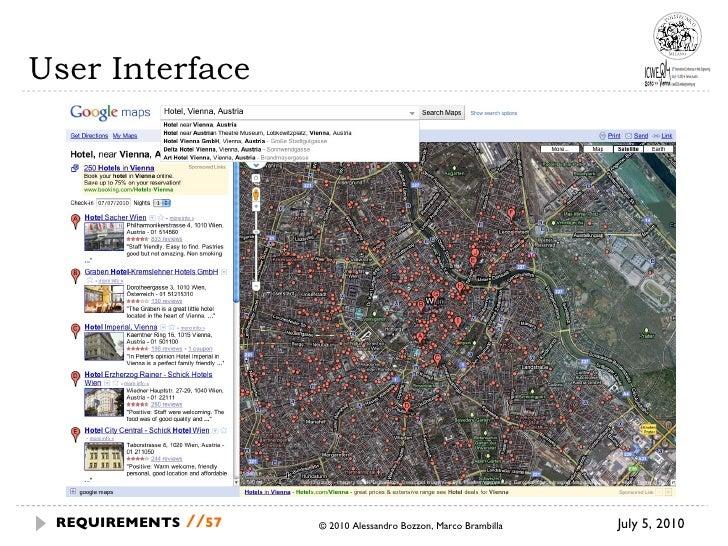 User Interface July 5, 2010 © 2010 Alessandro Bozzon, Marco Brambilla REQUIREMENTS   //