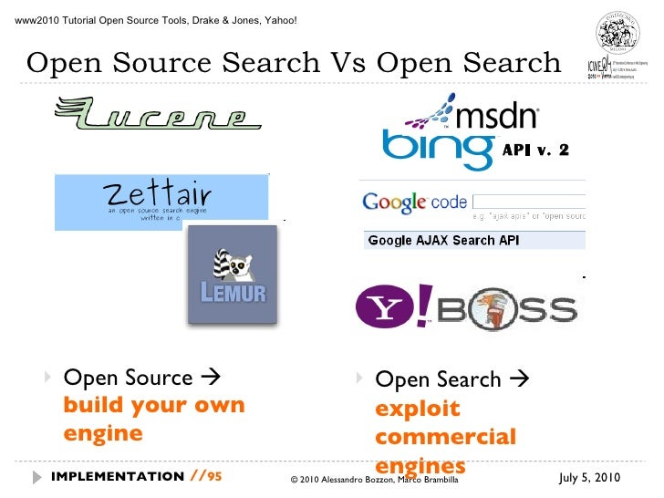 a comparison of two web search engines Search engines are listed in tables below for comparison purposes the first table lists the see also[edit] comparison of webmail providers - often merged with web search engines by companies that host both services list of search engines.