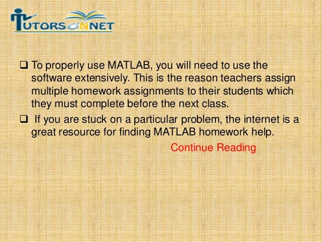 engineers and scientists can now matlab assignment help online f continue reading 4