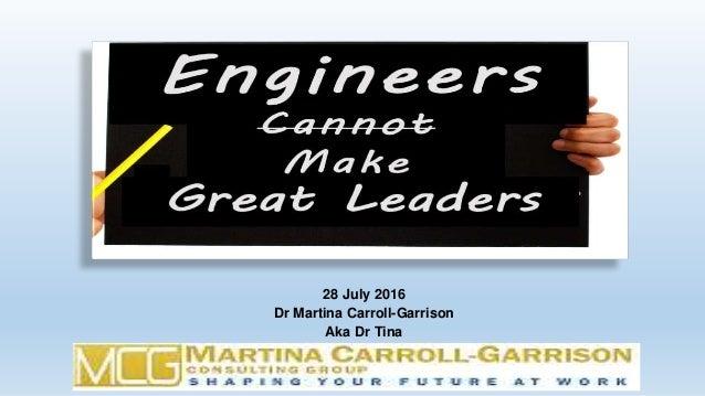 28 July 2016 Dr Martina Carroll-Garrison Aka Dr Tina