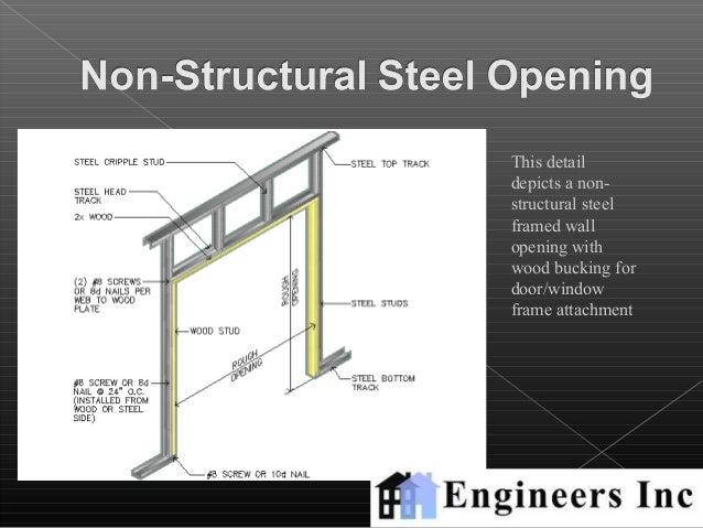 Metal Building Wall Detail
