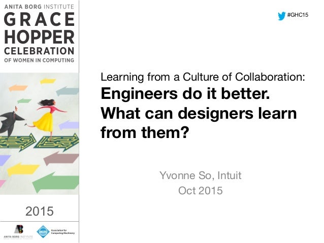 2015	    Learning from a Culture of Collaboration:
