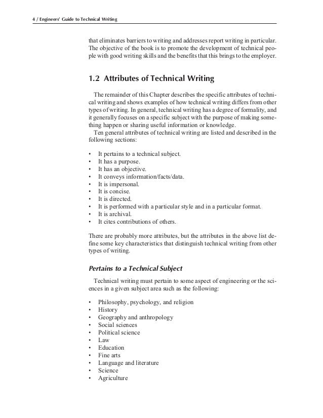 technical writing guide Technical writing guide 1 amany ibrahim elnakeep t e c h n i c a l w r i t i n g g u i d e 2 technical writing • technical writing is direct, informative, clear, and concise language written specifically for an identified audience.