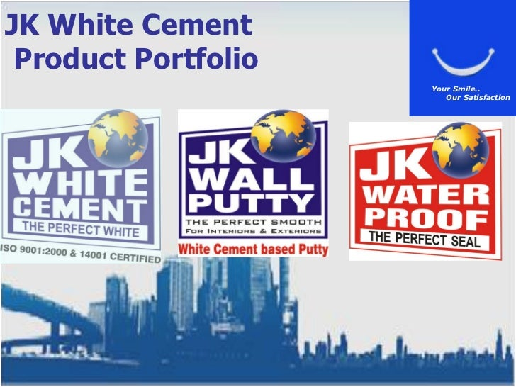 Jk Cement Products : Product seminar