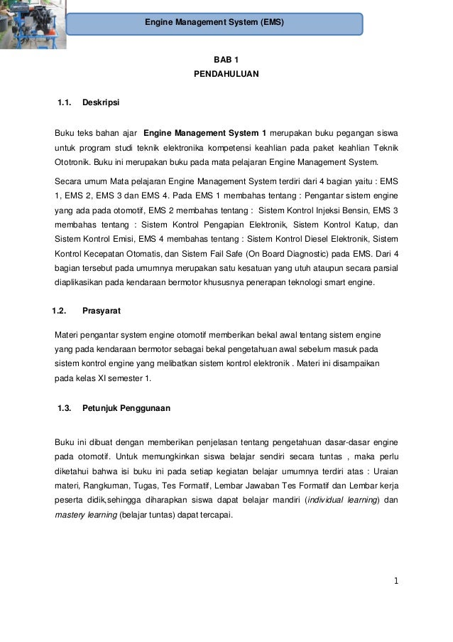 Engine Management System Ototronik Smk