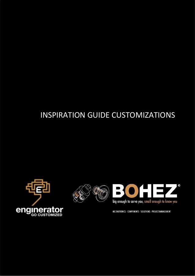 INSPIRATION GUIDE CUSTOMIZATIONS