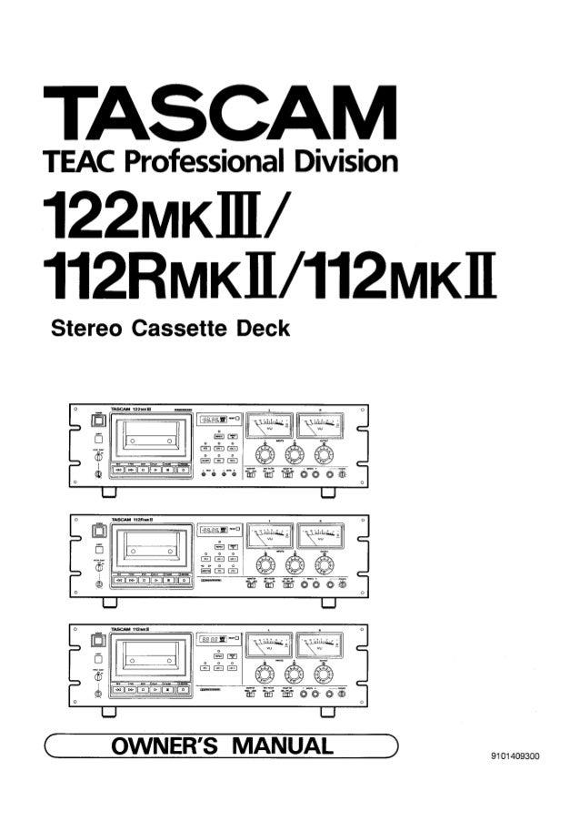 Engine Tascam 112 R Mkii Iii