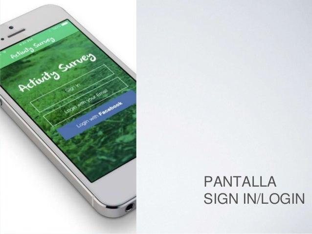 PANTALLA SIGN-IN /LOGIN