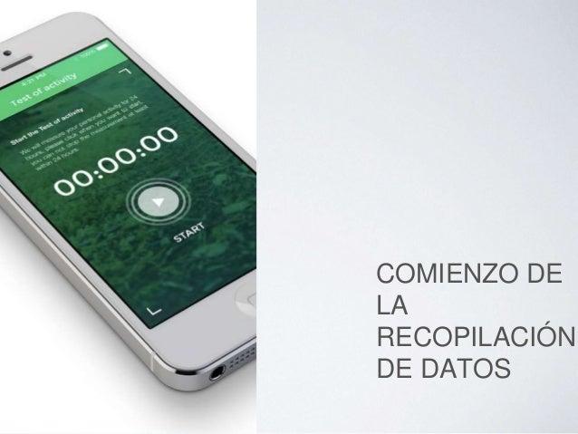 COMIENZO DE LA RECOPILACIÓN DE DATOS