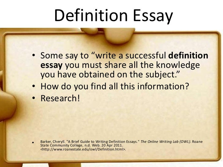 engl 111 definition essay In your essay, you could discuss and analyze your first visit to the library, your experiences with computers, learning how to write, learning how to use a word processing program, surfing the net, hating an english class, liking an english class, writing a letter, poem, story, etc.