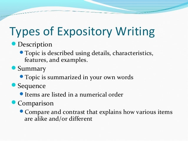 Essay definition and types