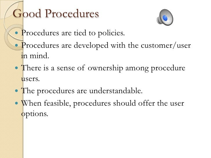 How to prepare a policy and procedure manual for Procedure to build a house