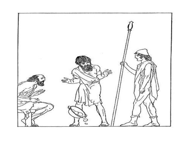 Как нарисовать одиссея