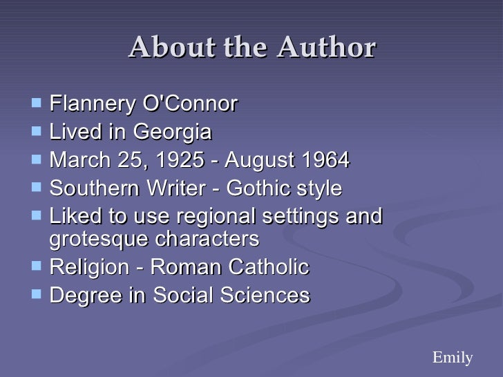 summary of good country people by flannery o connor